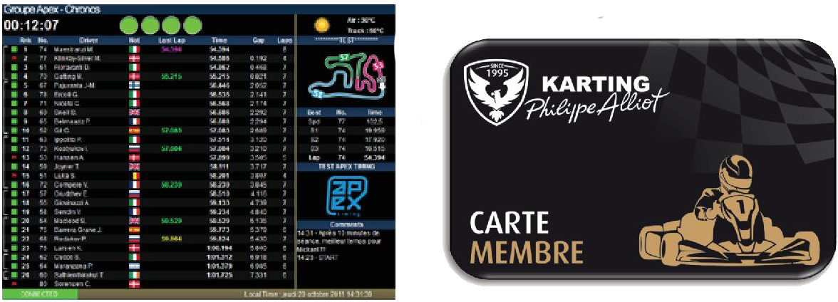 apex-chronometrage-carte-membre-karting-vendee